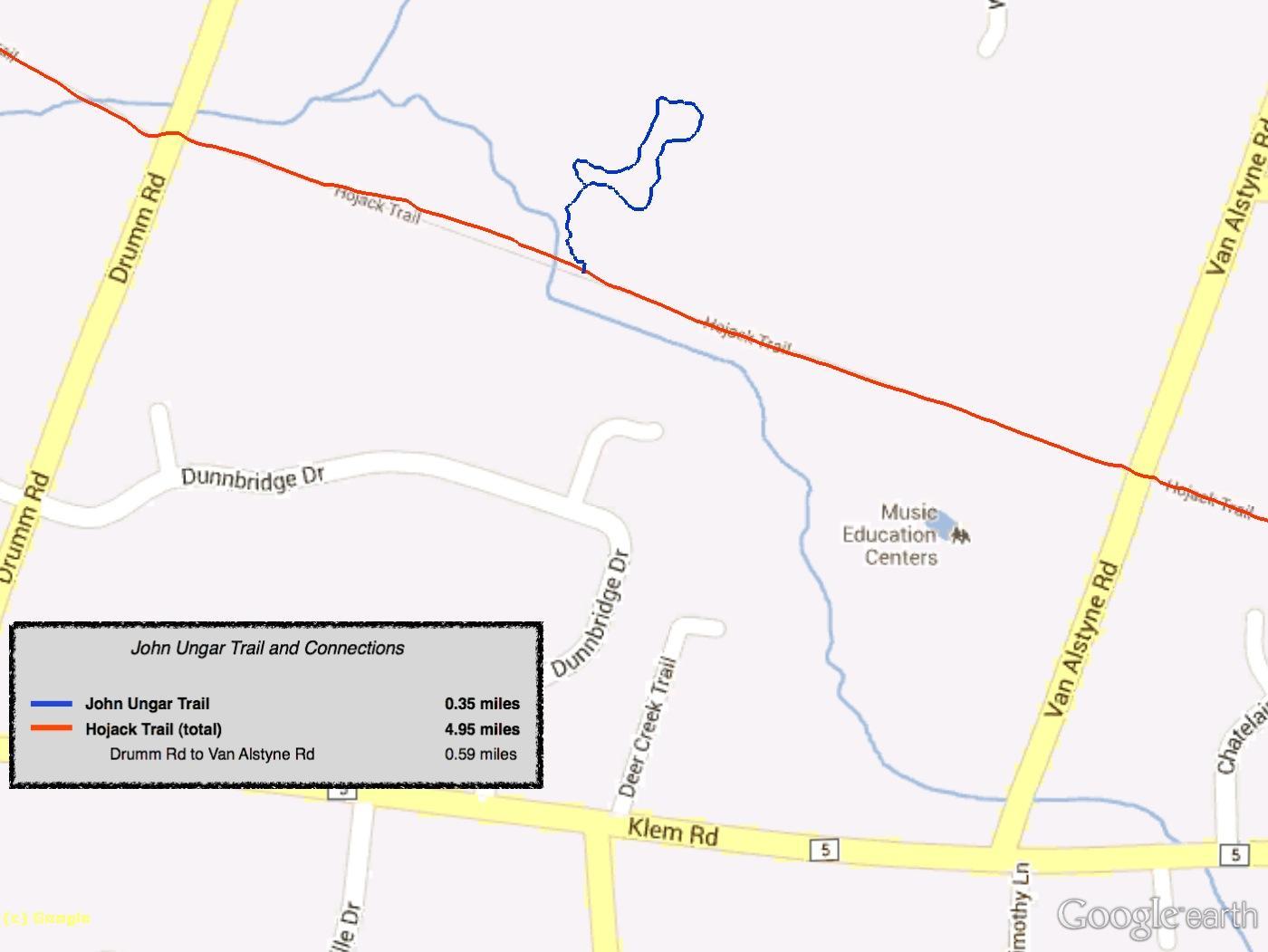 Friends Of Webster Trails - Printable satellite maps